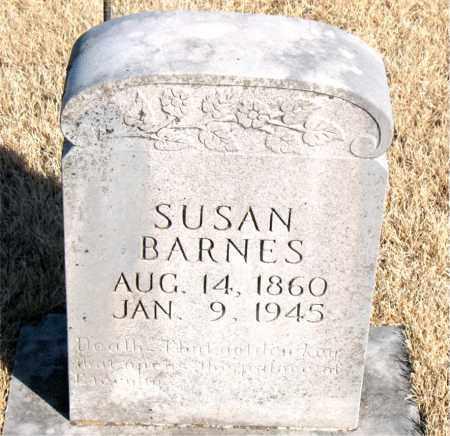 BARNES, SUSAN - Newton County, Arkansas | SUSAN BARNES - Arkansas Gravestone Photos