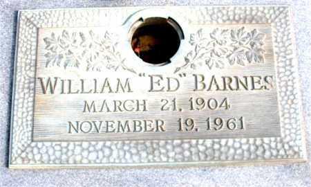 "BARNES, WILLIAM ""ED"" - Newton County, Arkansas   WILLIAM ""ED"" BARNES - Arkansas Gravestone Photos"