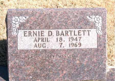 BARTLETT, ERNIE D. - Newton County, Arkansas | ERNIE D. BARTLETT - Arkansas Gravestone Photos