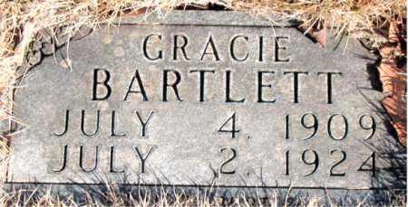 BARTLETT, GRACIE - Newton County, Arkansas | GRACIE BARTLETT - Arkansas Gravestone Photos