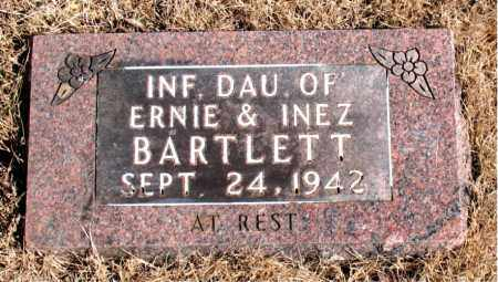 BARTLETT, INFANT DAUGHTER - Newton County, Arkansas   INFANT DAUGHTER BARTLETT - Arkansas Gravestone Photos