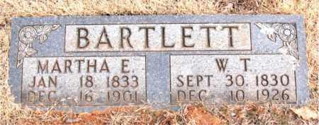 BARTLETT, W. T. - Newton County, Arkansas | W. T. BARTLETT - Arkansas Gravestone Photos