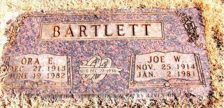 BARTLETT, ORA E. - Newton County, Arkansas | ORA E. BARTLETT - Arkansas Gravestone Photos