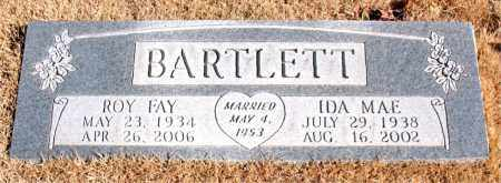 BARTLETT, ROY FAY - Newton County, Arkansas | ROY FAY BARTLETT - Arkansas Gravestone Photos