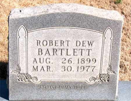 BARTLETT, ROBERT DEW - Newton County, Arkansas | ROBERT DEW BARTLETT - Arkansas Gravestone Photos