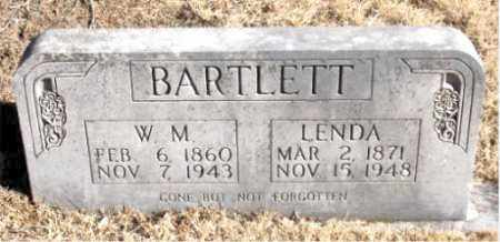 BARTLETT, W. M. - Newton County, Arkansas | W. M. BARTLETT - Arkansas Gravestone Photos
