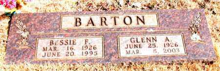 BARTON, GLENN A. - Newton County, Arkansas | GLENN A. BARTON - Arkansas Gravestone Photos
