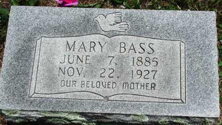 BASS, MARY - Newton County, Arkansas | MARY BASS - Arkansas Gravestone Photos
