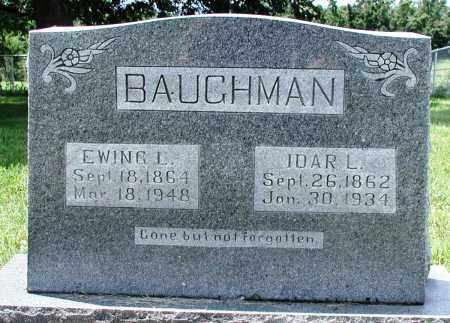 MCDONALD BAUGHMAN, IDAR L - Newton County, Arkansas | IDAR L MCDONALD BAUGHMAN - Arkansas Gravestone Photos