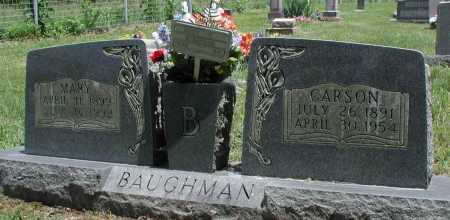 EDGAR BAUGHMAN, MARY E - Newton County, Arkansas | MARY E EDGAR BAUGHMAN - Arkansas Gravestone Photos