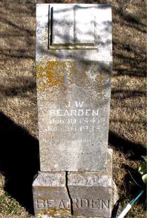 BEARDEN, J. W. - Newton County, Arkansas | J. W. BEARDEN - Arkansas Gravestone Photos