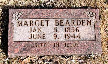 BEARDEN, MARGET - Newton County, Arkansas | MARGET BEARDEN - Arkansas Gravestone Photos