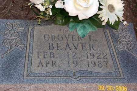 BEAVER  (2), GROVER L. - Newton County, Arkansas | GROVER L. BEAVER  (2) - Arkansas Gravestone Photos