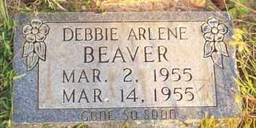 BEAVER, DEBBIE ARLENE - Newton County, Arkansas   DEBBIE ARLENE BEAVER - Arkansas Gravestone Photos
