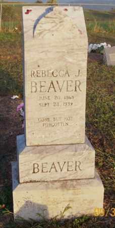 BEAVER, REBECCA J. - Newton County, Arkansas | REBECCA J. BEAVER - Arkansas Gravestone Photos