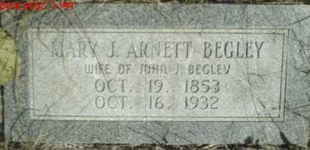 BEGLEY, MARY - Newton County, Arkansas | MARY BEGLEY - Arkansas Gravestone Photos