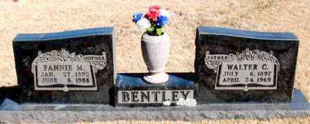 BENTLEY, WALTER C. - Newton County, Arkansas | WALTER C. BENTLEY - Arkansas Gravestone Photos