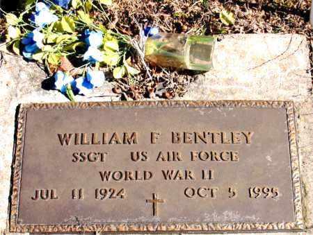 BENTLEY (VETERAN WWII), WILLIAM F - Newton County, Arkansas | WILLIAM F BENTLEY (VETERAN WWII) - Arkansas Gravestone Photos