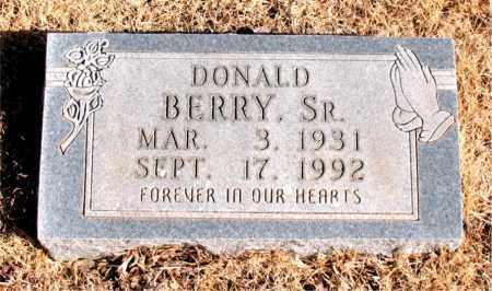 BERRY SR., DONALD - Newton County, Arkansas   DONALD BERRY SR. - Arkansas Gravestone Photos