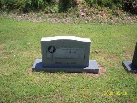 BERRY, GWENDOLYN NORINE - Newton County, Arkansas | GWENDOLYN NORINE BERRY - Arkansas Gravestone Photos