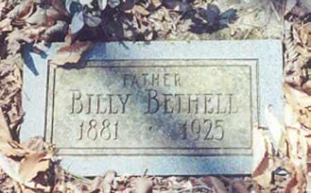 BETHELL, BILLY - Newton County, Arkansas | BILLY BETHELL - Arkansas Gravestone Photos