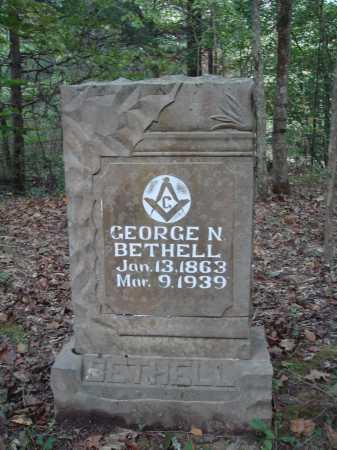 BETHELL, GEORGE NEWTON - Newton County, Arkansas | GEORGE NEWTON BETHELL - Arkansas Gravestone Photos