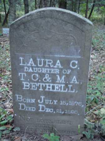 BETHELL, LAURA C. - Newton County, Arkansas | LAURA C. BETHELL - Arkansas Gravestone Photos