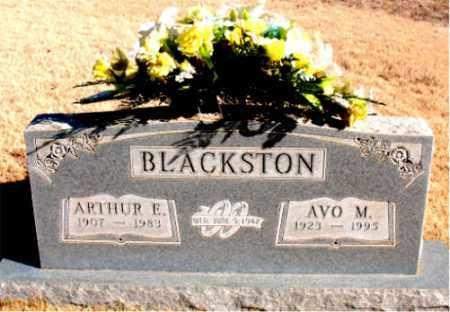 BLACKSTON, ARTHUR E. - Newton County, Arkansas | ARTHUR E. BLACKSTON - Arkansas Gravestone Photos