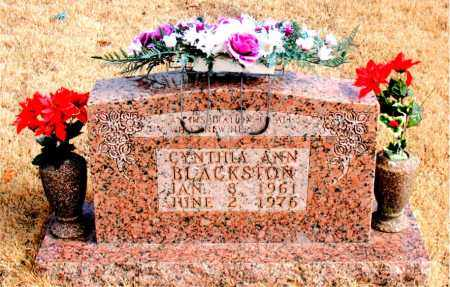BLACKSTON, CYNTHIA ANN - Newton County, Arkansas | CYNTHIA ANN BLACKSTON - Arkansas Gravestone Photos