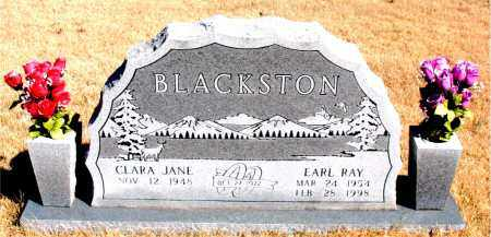 BLACKSTON, EARL RAY - Newton County, Arkansas   EARL RAY BLACKSTON - Arkansas Gravestone Photos