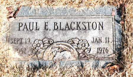 BLACKSTON, PAUL E. - Newton County, Arkansas | PAUL E. BLACKSTON - Arkansas Gravestone Photos