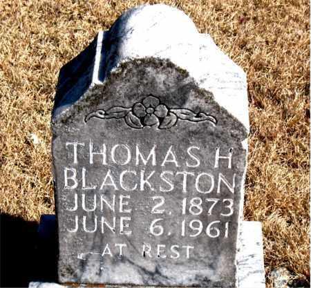BLACKSTON, THOMAS H. - Newton County, Arkansas | THOMAS H. BLACKSTON - Arkansas Gravestone Photos