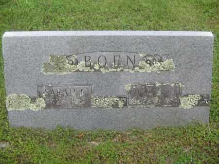 BOEN, A. R. - Newton County, Arkansas | A. R. BOEN - Arkansas Gravestone Photos