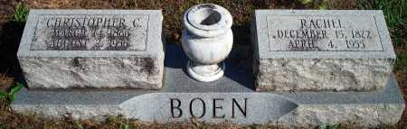 BOEN, RACHEL - Newton County, Arkansas   RACHEL BOEN - Arkansas Gravestone Photos