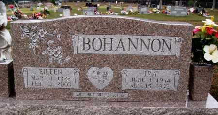 BOHANNON, IRA - Newton County, Arkansas | IRA BOHANNON - Arkansas Gravestone Photos