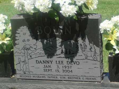 BOLIN, DANNY LEE DEVO - Newton County, Arkansas   DANNY LEE DEVO BOLIN - Arkansas Gravestone Photos