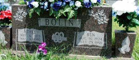 BOLIN, ETHEL - Newton County, Arkansas | ETHEL BOLIN - Arkansas Gravestone Photos