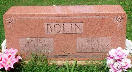"BOLIN, WILLIAM ROBERT ""BILL"" - Newton County, Arkansas | WILLIAM ROBERT ""BILL"" BOLIN - Arkansas Gravestone Photos"