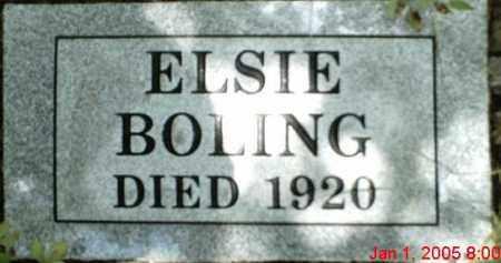 MARSHALL BOLING, ELSIE - Newton County, Arkansas | ELSIE MARSHALL BOLING - Arkansas Gravestone Photos