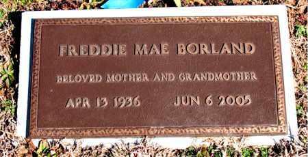 BORLAND, FREDDIE MAE - Newton County, Arkansas | FREDDIE MAE BORLAND - Arkansas Gravestone Photos