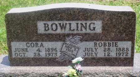 JOHNSON BOWLING, CORA - Newton County, Arkansas | CORA JOHNSON BOWLING - Arkansas Gravestone Photos