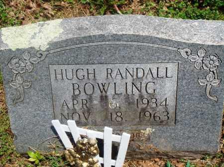 BOWLING, HUGH RANDALL - Newton County, Arkansas | HUGH RANDALL BOWLING - Arkansas Gravestone Photos