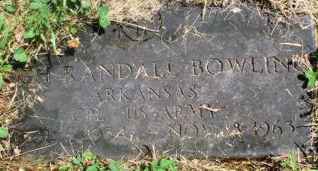 BOWLING (VETERAN), RANDALL - Newton County, Arkansas | RANDALL BOWLING (VETERAN) - Arkansas Gravestone Photos