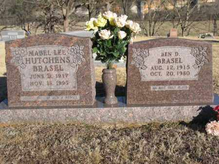BRASEL, BEN D. - Newton County, Arkansas | BEN D. BRASEL - Arkansas Gravestone Photos