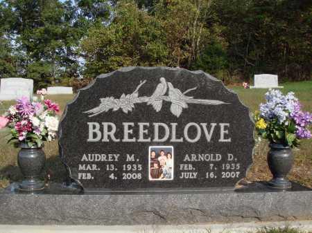 BREEDLOVE, AUDREY M. - Newton County, Arkansas | AUDREY M. BREEDLOVE - Arkansas Gravestone Photos