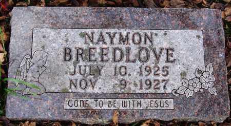 BREEDLOVE, NAYMON - Newton County, Arkansas | NAYMON BREEDLOVE - Arkansas Gravestone Photos
