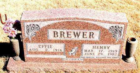 BREWER, HENRY - Newton County, Arkansas | HENRY BREWER - Arkansas Gravestone Photos