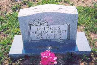 BRIDGES, WILLIAM BENNETT - Newton County, Arkansas   WILLIAM BENNETT BRIDGES - Arkansas Gravestone Photos