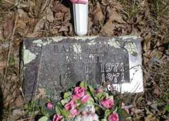 BRIGHT, BABY GIRL - Newton County, Arkansas | BABY GIRL BRIGHT - Arkansas Gravestone Photos