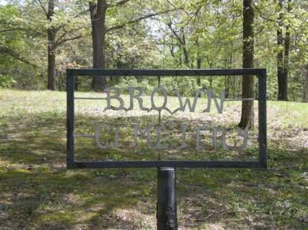 *BROWN CEMETERY ENTRANCE,  - Newton County, Arkansas |  *BROWN CEMETERY ENTRANCE - Arkansas Gravestone Photos
